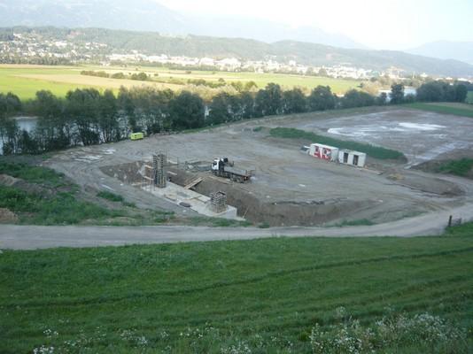Baustelle Talstation