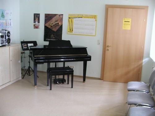 Musikzimmer in der Musikschule Baldramsdorf